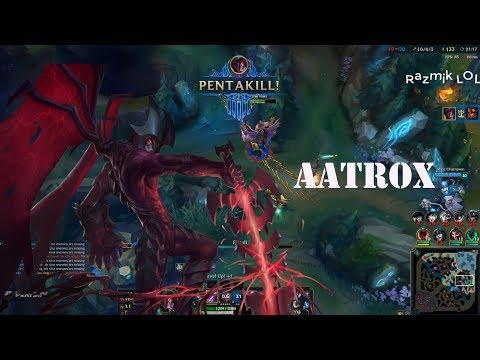 Aatrox Montage #2 - Aatrox 1V5 Pentakill - Best Aatrox Plays Compilation[Razmik LOl]