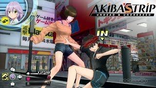 Gotta Strip 'Em All! - Akiba's Trip: Undead & Undressed - Gameplay