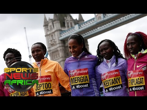 Sports News Africa Express: Kiplagat  London Marathon, Tributes pour in for Moshoeu