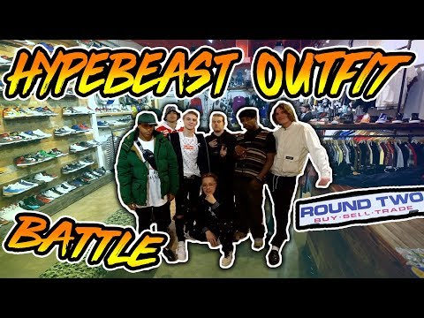 Ultimate Hypebeast Outfit Challenge At Round Two Ft PAQ