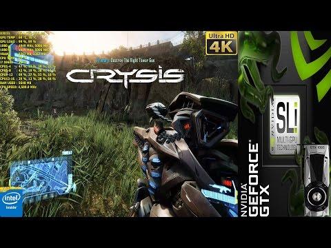 Crysis 3 Very High Settings 4K   GTX 1080 SLI   i7 5960X 4.5GHz