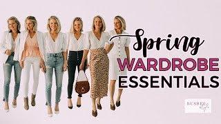 10 Spring Wardrobe Essentials with a Twist