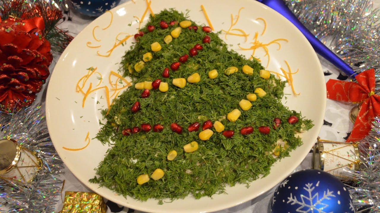 Новогодние салатов фото