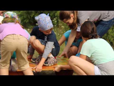 Детский лагерь УХ-ТЫ!Camp 2014 3 смена ТИМБИЛДИНГ