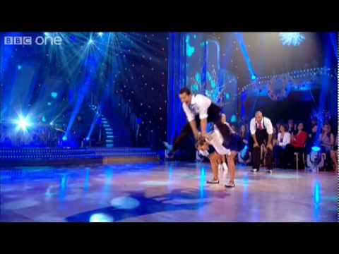 http://www.bbc.co.uk/strictly Both finalists, Chris Hollins and Ricky Whittle, and their dance partners, Ola Jordan and Natalie Lowe, perform a Lindy Hop to ...