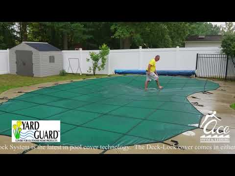 The Yard Guard Deck-Lock System for In-Ground Pools