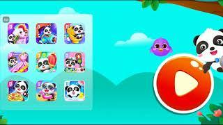 Baby Panda Care App Playthrough