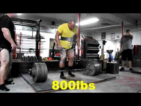 Eric Lilliebridge- 860lbs Raw Deadlift 23 y/o @ 285lbs 1-19-14 Image 1