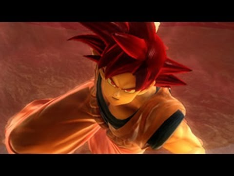 Super Saiyan God Goku on Ultimate Tenkaichi