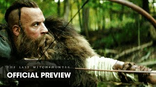 """The Last Witch Hunter (2015 Movie - Vin Diesel) Preview Featuring """"Paint It, Black"""" by Ciara"""