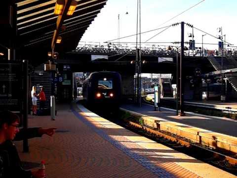 Denmark DSB Intercity at Copenhagen Central Station