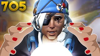 Ana's BIG IQ Prediction!! | Overwatch Daily Moments Ep.705 (Funny and Random Moments)