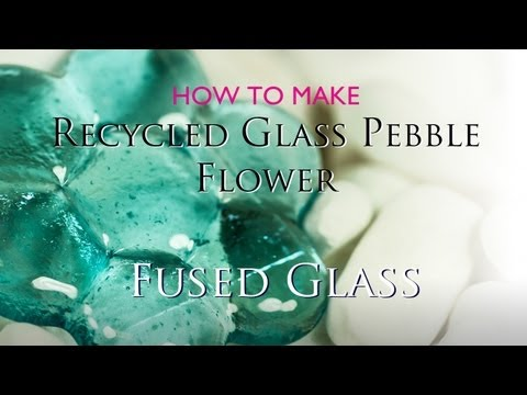 Fusing Recycled Glass Pebbles in a Microwave Kiln - Wind Chime Project