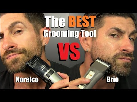 Who Makes The BEST Beard Grooming Tool   Norelco vs Brio   * NON-Sponsored* Review & Comparison
