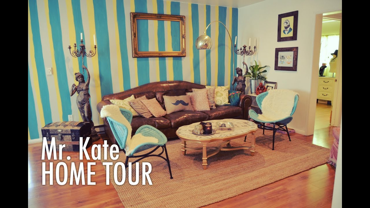 home tour with mr kate youtube. Black Bedroom Furniture Sets. Home Design Ideas