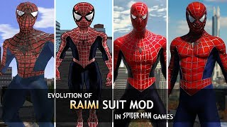"Evolution Of ""Sam Raimi"" Mods In Spider-Man Games! (2002-2018)"