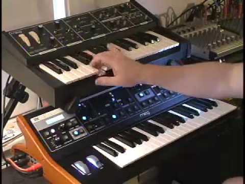 keybdwizrd - Moog Rogue and Little Phatty Comparison