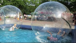 Download Water Playground fun and Ball Pit Fun, Water balls, Wodny plac zabaw dla dzieci 3Gp Mp4