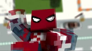 Spider-Man - trailer 2018 [Minecraft animation]