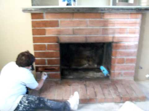 Updating Old Fireplace On A Budget Youtube