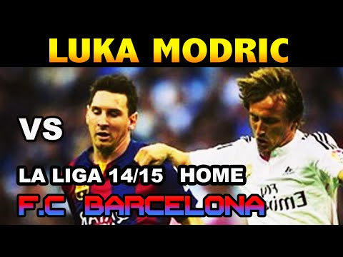 Luka Modric vs Barcelona LA LIGA 2014/2015 ( 25/10/2014 - 25.10.2014 ) [HD]
