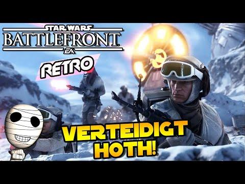 Verteidigung von Hoth! - Star Wars Battlefront Retro #170 - Gameplay HD deutsch Tombie