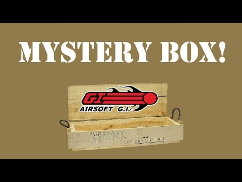 Three Airsoft GI Mystery Boxes. what will they be...