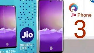 Jio phone 3 first look, specs, gorilla glass 6