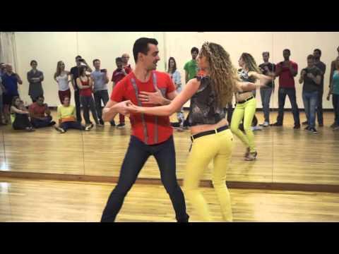 Alisson Sandi & Audrey Isautier - Zouk Intensive in Atlanta  - Ciara (Dance Like We're Making Love)
