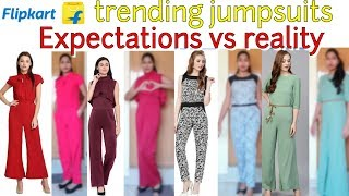 Trending on Flipkart Jumpsuits under 1000| review and try on,summer special|FabRose