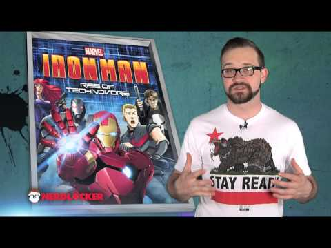 Nerdlocker Movie Review - Iron Man: Rise Of Technovore