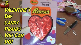 5 Valentine's Day Pranks You Can Do On Friends- HOW TO PRANK (Evil Booby Traps)