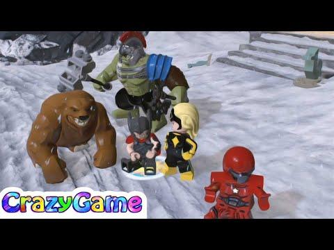 LEGO Marvel Super Heroes 2 Thor & Hulk Ragnarok (Manhattan Free Roam)
