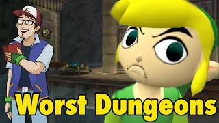 Top 10 WORST Zelda Dungeons