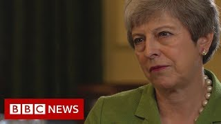 Theresa May's final Number 10 interview - BBC News