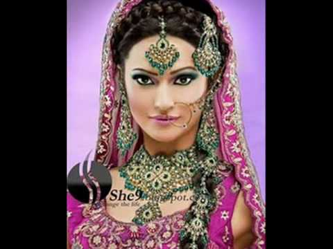 GLAMOROUS Indian Bridal Makeup & Dresses