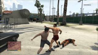 GTA V Rocky (Parody) Eye of the Tiger Music Video