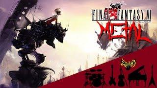 Final Fantasy VI - Battle Theme 【Intense Symphonic Metal Cover】