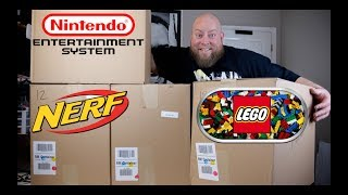 I bought a $1,310 Amazon Customer Returns TOYS & COLLECTIBLES Pallet w/ Mystery Boxes + LEGO FIND!