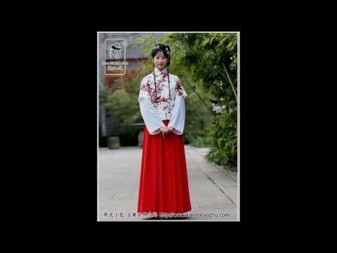 Hot Chinese girls in traditional dress (4) 中國漢服之半臂(女)