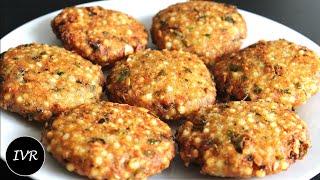 """Sabudana Vada"" | Crispy Sago Patties - Indian Vegetarian Recipe"