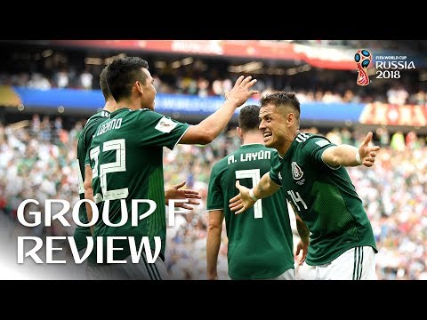 Sweden and Mexico progress - Group F Review!