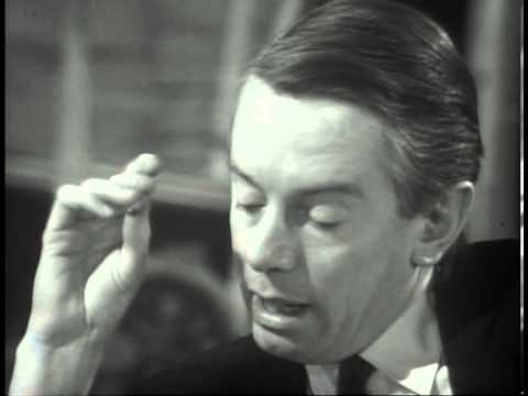 Sir Laurence Olivier : Great Acting 1966 Interview with Kenneth Tynan (1/5)