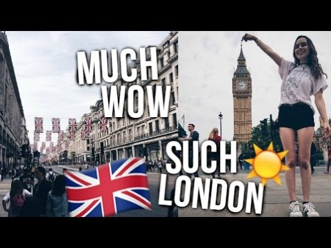BEING A TOURIST IN LONDON! Big Ben, Buckingham Palace +More