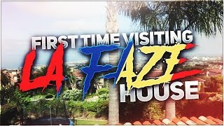 FIRST TIME VISITING LA FAZE HOUSE
