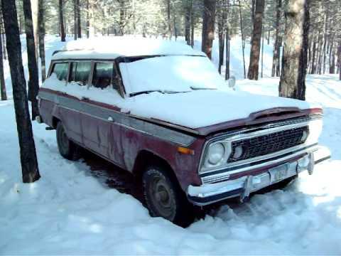 Wagon 1977 1977 Jeep Wagoneer 401
