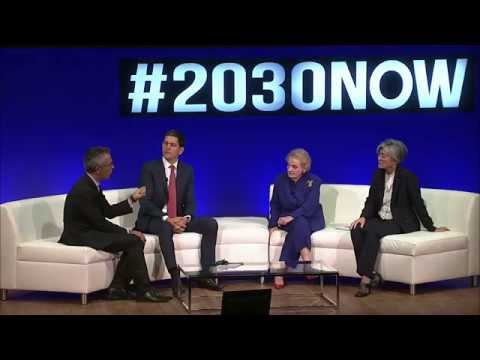 Miliband, frmr. Sec. Albright and UN OCHA on the Future of Humanitarian Aid