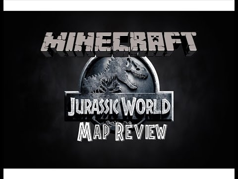 Minecraft Map Review   JURASSIC WORLD!