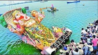 Ganesh Nimajjanam live updates from Telugu Talli flyover