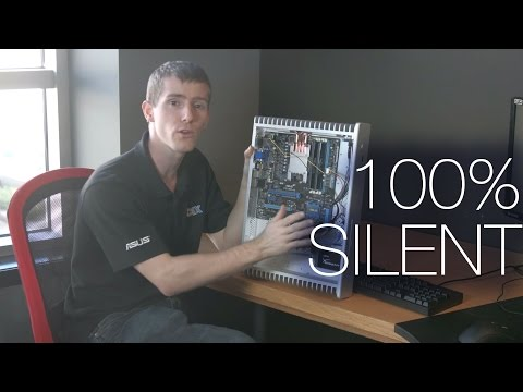 Ultimate Silent Fanless Computer ft. Streacom FC5 Evo